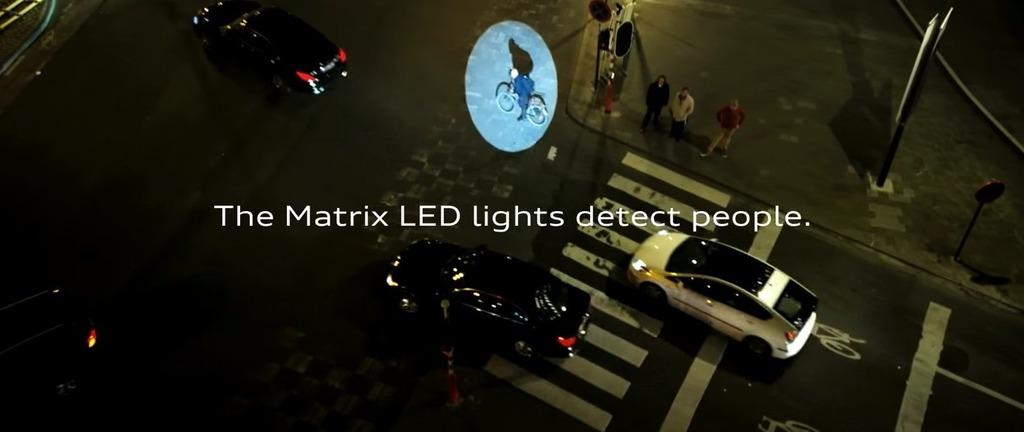 Biển quảng cáo Audi giúp bảo vệ người qua đường1