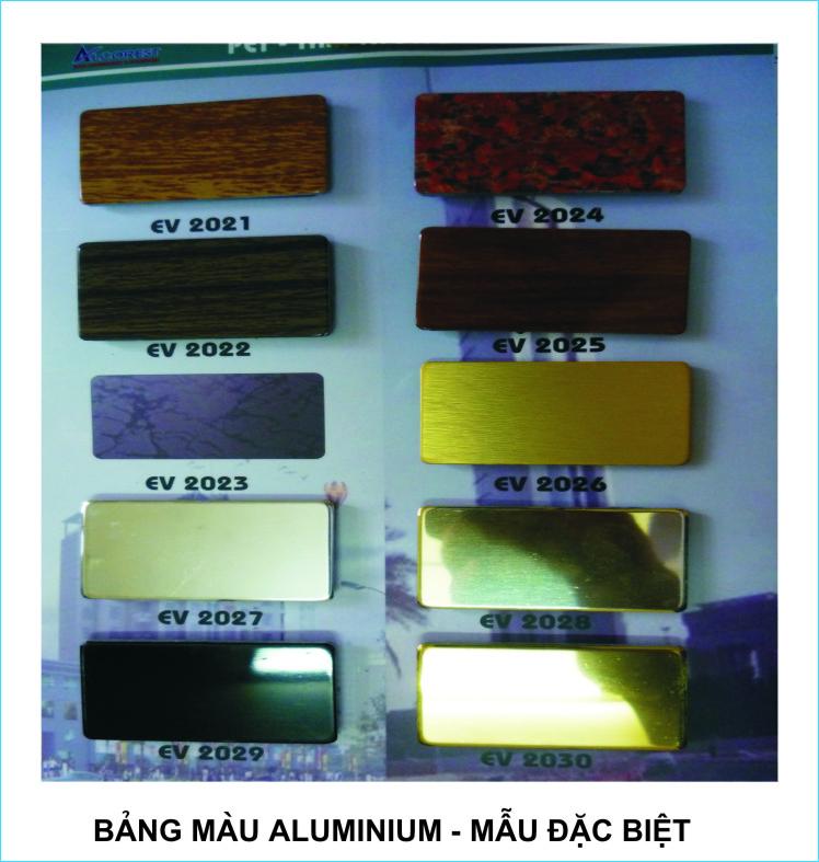 Bảng màu Alumi, Mica 4