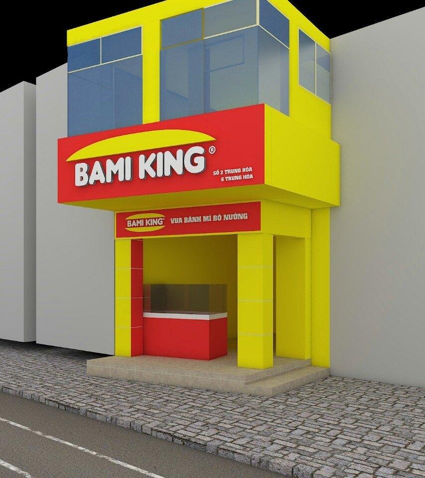 Biển quảng cáo Bami King