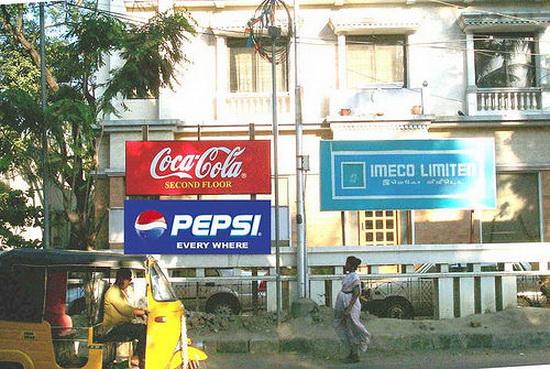 biển quảng cáo - cuộc chiến của các thương hiệu